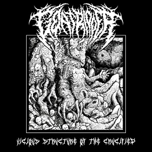 GOAT RIPPER ''Vicious Structures of the Crucified''
