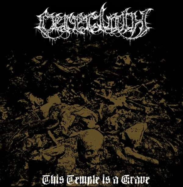 CERECLOTH ''This Temple is a Grave''