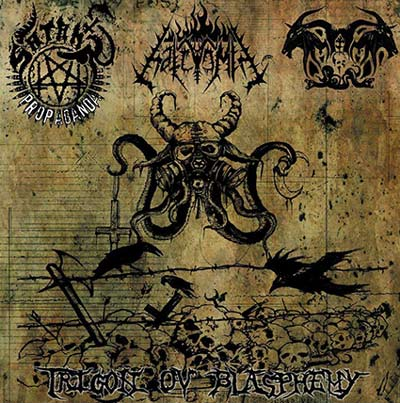 Trigon of Blasphemy Split