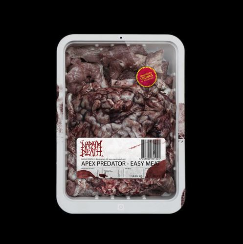 NAPALM DEATH '' Apex Predator - Easy Meat ''